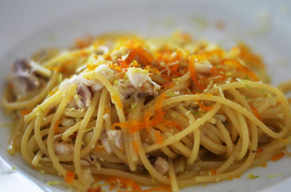 spaghetti bottarga ristorante alceste anzio